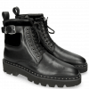 Ankle boots Susan 66 Nappa Black Velluto Black Accessory Crystal