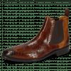Ankle boots Jeff 35 Crock Wood Pisa Sand Elastic Dark Brown
