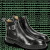 Ankle boots Susan 68 Black Elastic Sword Buckle