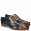 Oxford shoes Lewis 36 Moroccan Blue Oxygen Lines London Fog