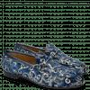 Loafers Scarlett 1 Textile Zardosi Blue