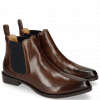 Ankle boots Marlin 4 Brown Elastic Navy