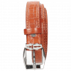 Belts Linda 1 Crock Winter Orange Sword Buckle