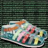 Sandals Sam 3 Turquoise Tibet Sol Glicine Fiesta