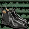 Ankle boots Susan 37 Black Elastic Glitter