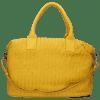 Handbags Kimberly 2 Woven Yellow