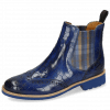 Ankle boots Selina 6 Crock Electric Blue Elastic Norwegian