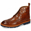 Ankle boots Matthew 7 Venice Turtle Cognac Loop Orange