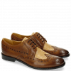 Derby shoes Xenia 2 Tobacco Nude