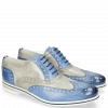 Oxford shoes Scott 12 Vegas Neptune Blue Digital White