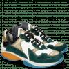 Sneakers Kobe 1 Suede Pattini Verde Milled White
