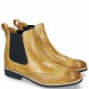 Ankle boots Amelie 5 Brazil Soft Ocra Dark Finishing Elastic Navy