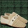 Loafers Erika 2 Nude Wax Rivets