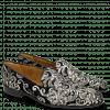 Loafers Prince 1 Textile Zardosi Black