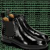 Ankle boots Susan 37 Soft Patent Black Rivets