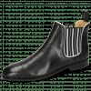 Ankle boots Susan 10 Vegas Turtle Black Binding White