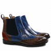 Ankle boots Amelie 5 Crock Stone Pop Blue Orange Elastic Navy HRS