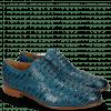 Oxford shoes Henry 25 Mid Blue Eyelet Gunmetal