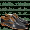 Derby shoes Alex 10 Berlin Perfo Navy Berlin Tan