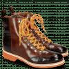 Ankle boots Amelie 71 Crock Mogano Wood Sherling Cognac