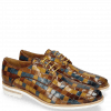 Derby shoes Brad 7  Woven Multi Olive