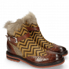 Ankle boots Amelie 67 Turtle Wood Hairon Driveway Textile English