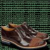 Oxford shoes Brad 8 Mogano Interlaced Winter Orange