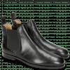 Ankle boots Susan 10 Black Elastic Black Lining Rich Tan