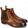 Ankle boots Clint 7 Wood Elastic Dark Brown