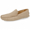 Loafers Nelson 1 Suede Pattini Tortora