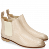 Ankle boots Susan 10 Salerno Perfo Off White