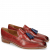 Loafers Leonardo 1 Fiesta Tassel Electric Blue
