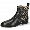 Ankle boots Susan 45 Crock Black Hairon New Zebra