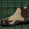 Ankle boots Sally 19 Chestnut Nappa Aztek Bronze Sheep Suede Elephant