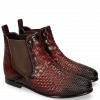 Ankle boots Lina 2 Interlaced Ruby