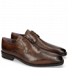 Derby shoes Lance 8 Scotch Grain Chestnut