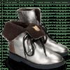 Ankle boots Greta 1 Talca Steel Turtle Dark Brown Sherling Cognac