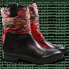 Ankle boots Jessy 29 Black Silk Black