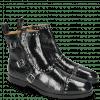 Ankle boots Susan 45 Soft Patent Oriental Rivets