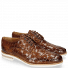 Derby shoes Brad 7 Woven Lining Rich Tan