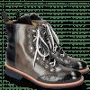 Ankle boots Amelie 71 Crock Navy Grigio Tongue Nappa Fur