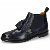 Ankle boots Selina 5 Navy Elastic Navy