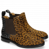 Ankle boots Katrin 3 Hair On Leo Cappu Black Rivets
