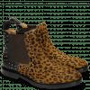 Ankle boots Katrin 3 Hair On Leo Cappu Black Rivets