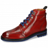 Ankle boots Trevor 5 Red Laces Blue