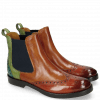 Ankle boots Amelie 5  Rust Tan New Grass Abyss
