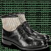 Ankle boots Patrick 4 Crock Black Hairon Stripes