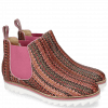 Ankle boots Sally 25 Woven Harrisburg Fuxia