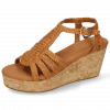 Sandals Hanna 55 Woven Hazel Cork
