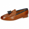Loafers Scarlett 44 Pavia Tan Haring Bone